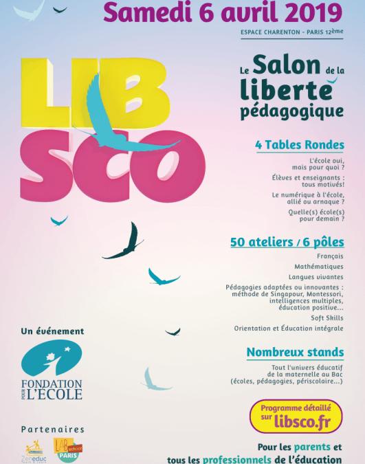 Salon de la liberté pédagogique à Paris