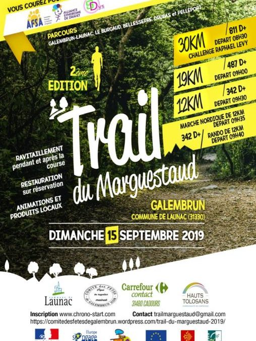 Trail du 15 septembre 2019