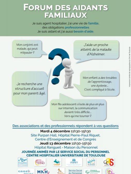 13/12/2018 Forum des aidants familiaux de Rangueil