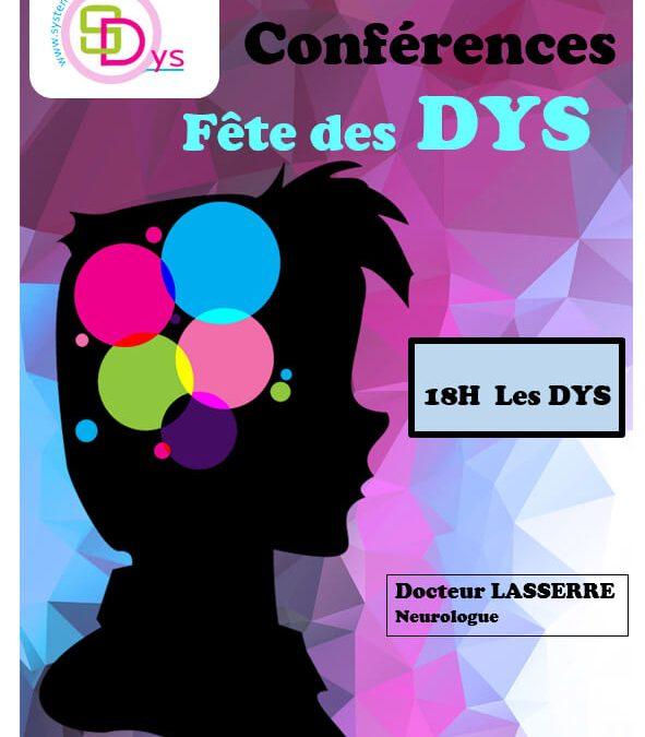 Conférence, Journée Nationale des DYS